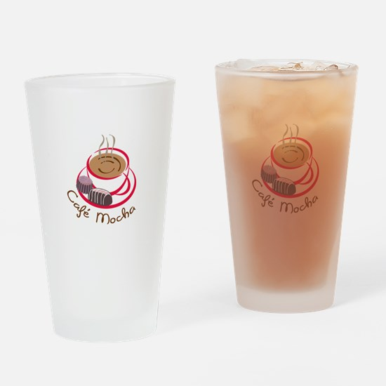 CAFE MOCHA Drinking Glass