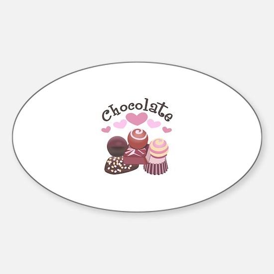 GOURMET CHOCOLATES Decal