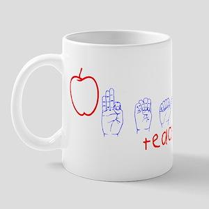 ASL Teacher Mug