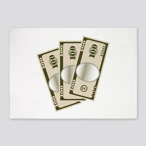 Cash Money 5'x7'Area Rug