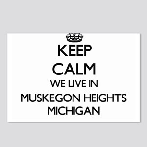 Keep calm we live in Musk Postcards (Package of 8)