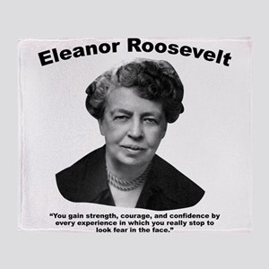 Eleanor: Confidence Throw Blanket