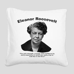 Eleanor: Confidence Square Canvas Pillow
