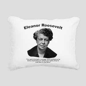 Eleanor: Confidence Rectangular Canvas Pillow