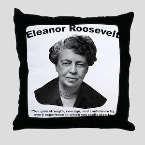 Eleanor: Confidence Throw Pillow