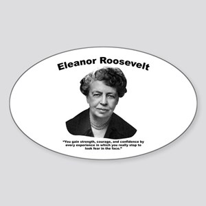Eleanor: Confidence Sticker (Oval)