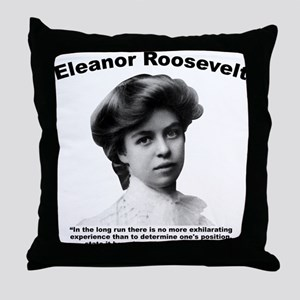 Eleanor: Stand Throw Pillow