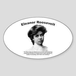 Eleanor: Stand Sticker (Oval)