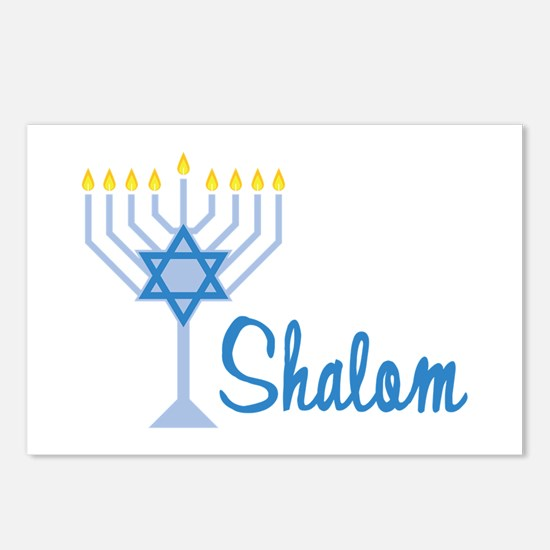 Shalom Postcards (Package of 8)