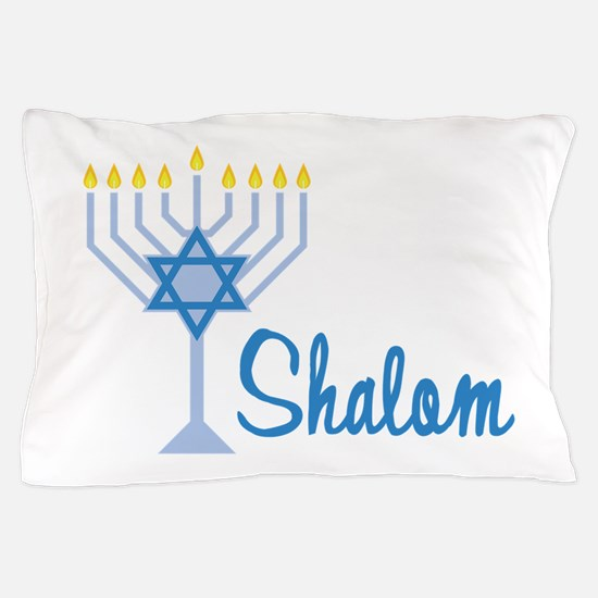 Shalom Pillow Case