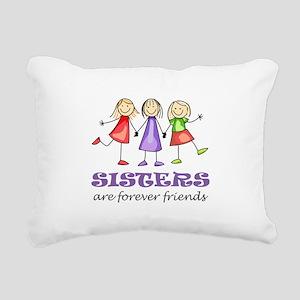Sisters Rectangular Canvas Pillow