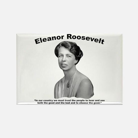 Eleanor: People Rectangle Magnet