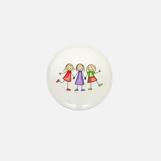 BEST FRIENDS FOREVER Mini Button