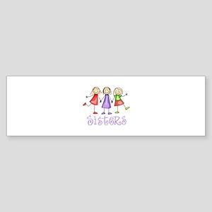 STICK CHILDREN Bumper Sticker