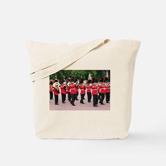 Guards Band, Buckingham Palace, London, E Tote Bag