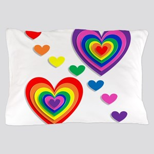 A Rainbow For My Valentine Pillow Case