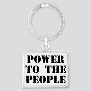Power To The People Keychains