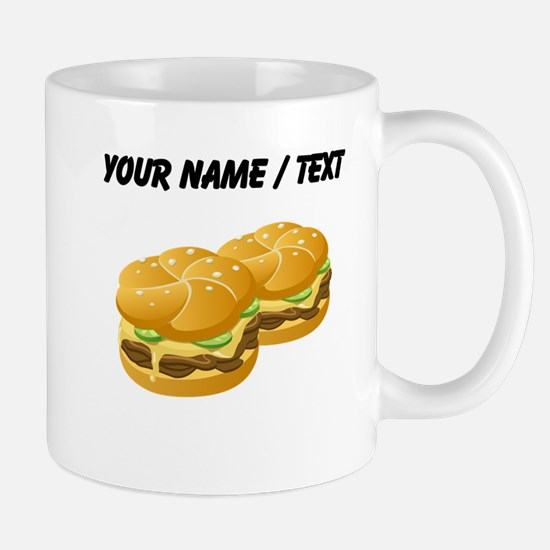 Custom Cheeseburgers Mugs