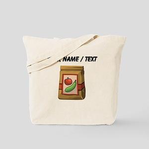 Custom Bag Of Vegetables Tote Bag