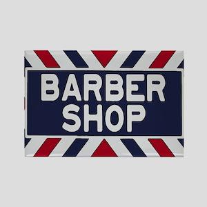 Old Time Barbershop Rectangle Magnet