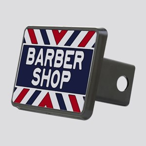 Old Time Barbershop Rectangular Hitch Cover
