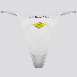 Custom Corn On The Cob Classic Thong