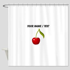 Custom Cherry Shower Curtain