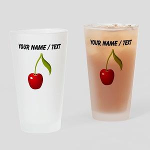 Custom Cherry Drinking Glass