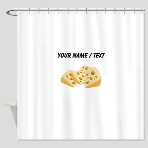 Custom Cheese Shower Curtain