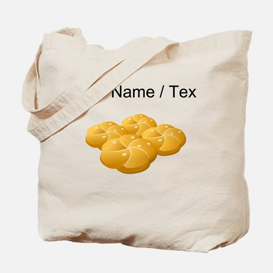 Custom Hamburger Buns Tote Bag