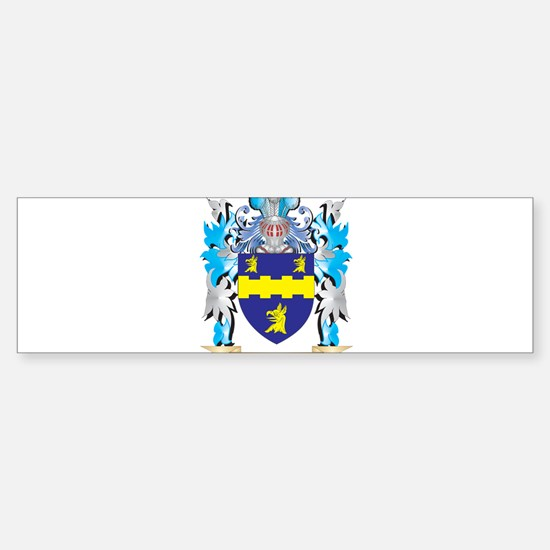 Morrow Coat of Arms - Family Crest Bumper Bumper Bumper Sticker