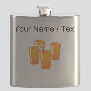 Custom Orange Juice Flask