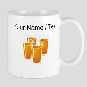 Custom Orange Juice Mugs
