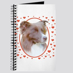 Border Collie Hearts Journal