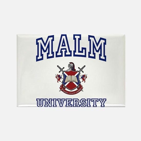 MALM University Rectangle Magnet