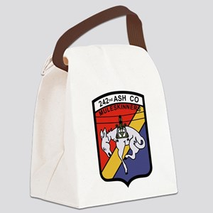 242nd ASH Company Muleskinners.pn Canvas Lunch Bag