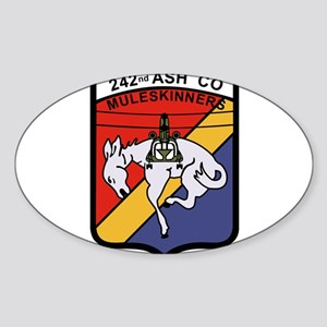 242nd ASH Company Muleskinners Sticker
