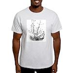 Leaf-Bare Walnut Tree Ash Grey T-Shirt