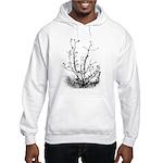 Leaf-Bare Walnut Tree Hooded Sweatshirt