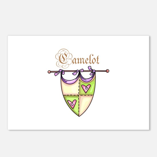 CAMELOT Postcards (Package of 8)