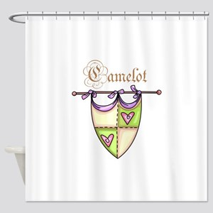 CAMELOT Shower Curtain