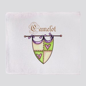 CAMELOT Throw Blanket