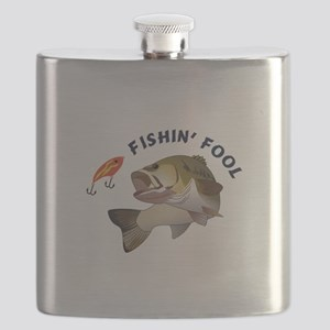 FISHIN FOOL Flask