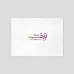 FAIRY GODMOTHER 5'x7'Area Rug