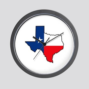 TEXAS STATE Wall Clock