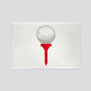GOLF BALL ON TEE Magnets