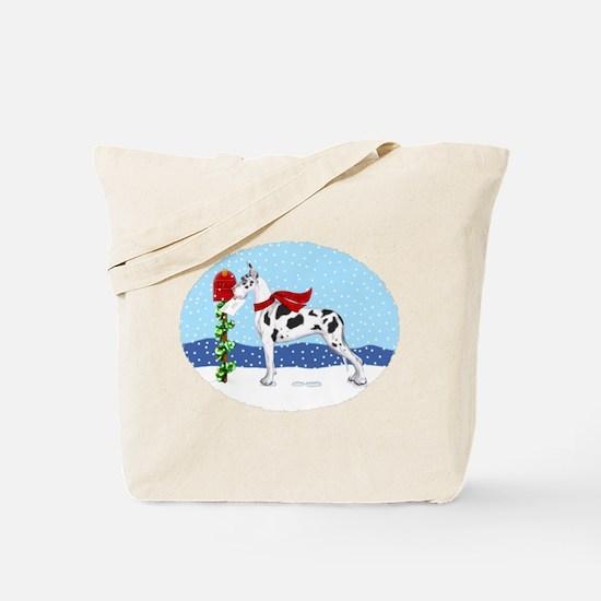 Great Dane Harlequin Mail Tote Bag