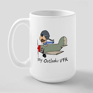 Fighter Pilot Large Mug