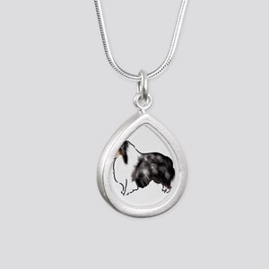 shetland sheepdog blue merle Necklaces