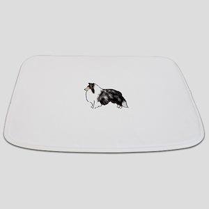 shetland sheepdog blue merle Bathmat